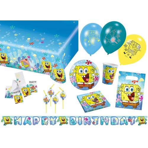 Kit 8 persone SpongeBob, coordinato tavola