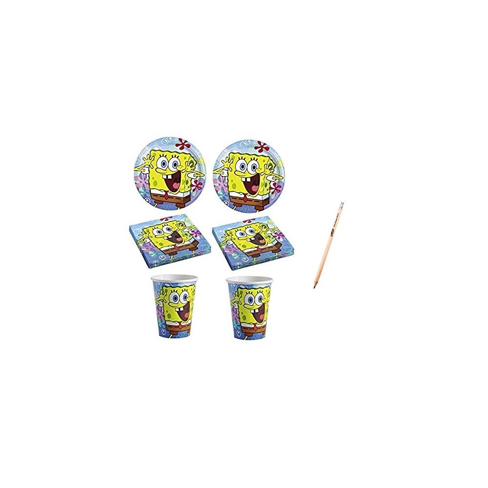 Kit 16 persone basic SpongeBob per feste