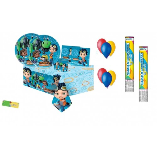 Irpot Kit n.30 Coordinato Compleanno Rusty Rivets