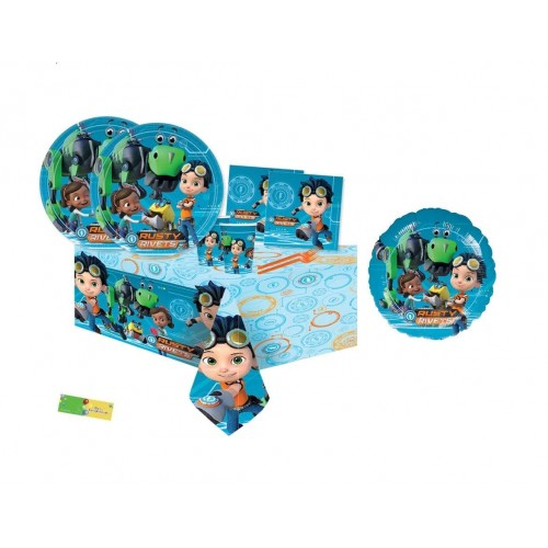 Irpot Kit n.10 Coordinato Compleanno Rusty Rivets
