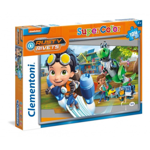 Puzzle Rusty Rivets - Clementoni