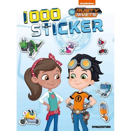1000 sticker di Rusty Rivets, adesivi