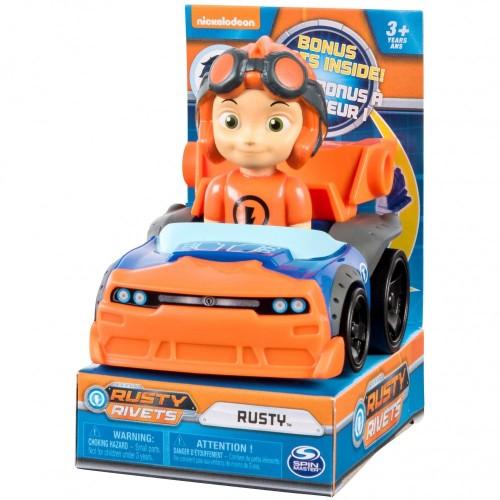 Action figure veicolo Rusty Racers