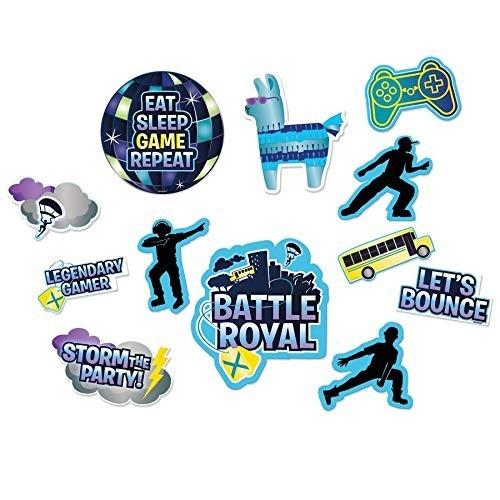 Decorazioni in cartoncino Royal Battle - Fortnite