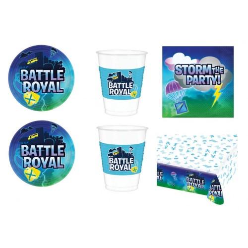 Kit per 24 persone tema Battle Royal - Fortnite