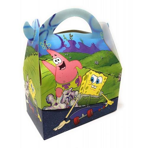 Scatoline SpongeBob confezione da 6 pezzi