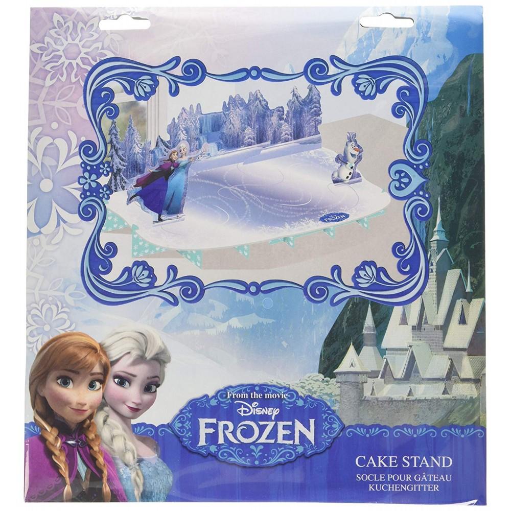 Alzata rettangolare per torta Frozen