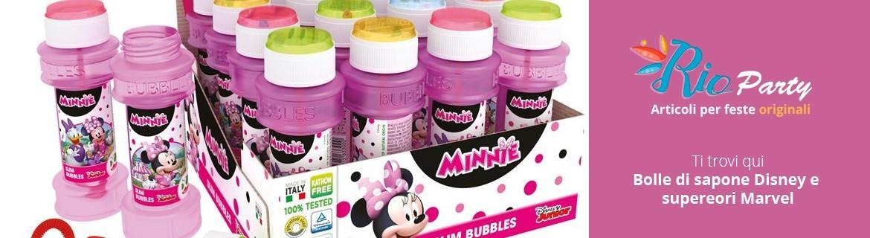 Bolle di sapone per bambini, tantissimi personaggi Disney e supereroi