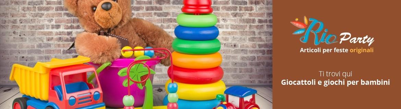 Giocattoli per bambini, idee regalo, peluche, Lego, Playmobil, modellini