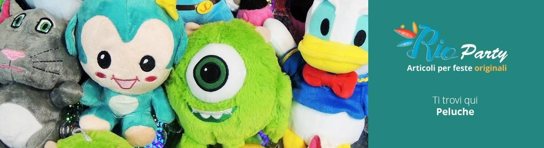 Peluche per bambini, giganti, da collezione, Disney e Super Eroi