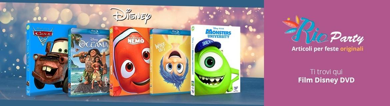 DVD Disney, Classici, film d'animazione, serie animate originali