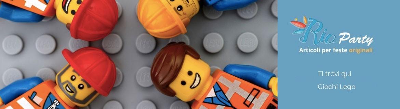 Giochi Lego originali, mattoncini, costruzioni, da collezione