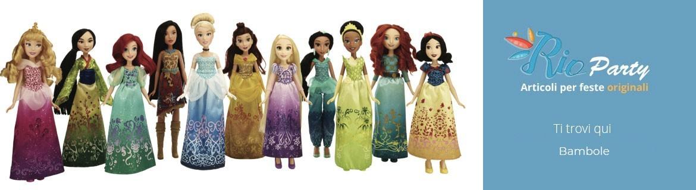 Bambole e accessori, nenuco, Barbie, Principesse Disney