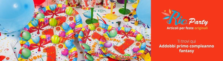 Primo compleanno tema Fantasy, decorazioni per allestimenti