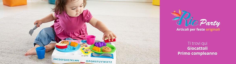 Giocattoli Primo compleanno, idee regalo, giochi creativi