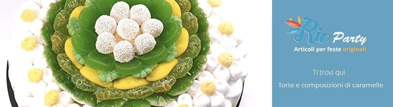 Torte di caramelle, composizioni originali, confezionate, gustose