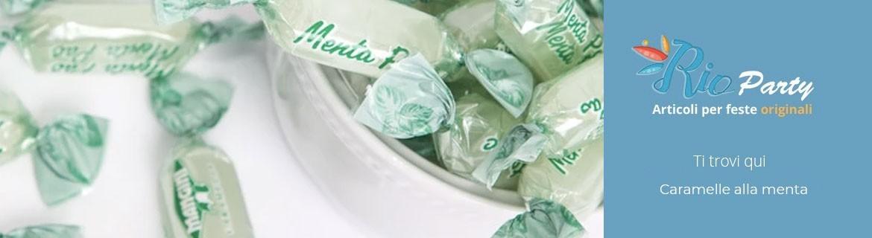 Caramelle alla menta, balsamiche, mentolo, gustose ed economiche