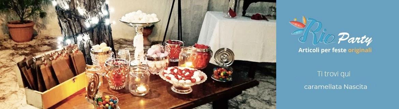 Caramellata Laurea, decorazioni, addobbi, accessori, caramelle