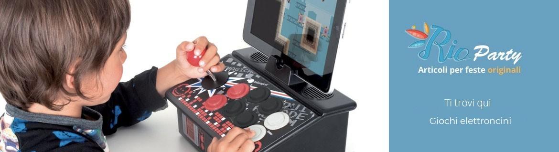 Giochi elettronici, apprendimento, tablet, robot interattivi