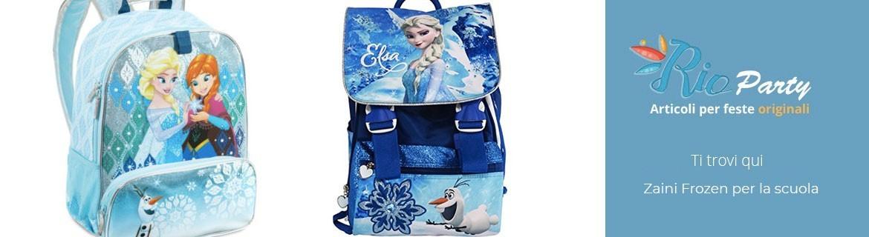 Zaini Frozen Disney, trolley, classici, borse da viaggio