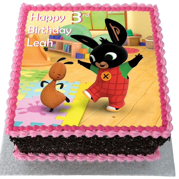 torta bing con cialda rettangolare