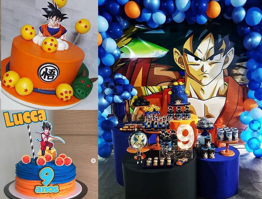 Festa a tema Dragon Ball, addobbi e decorazioni