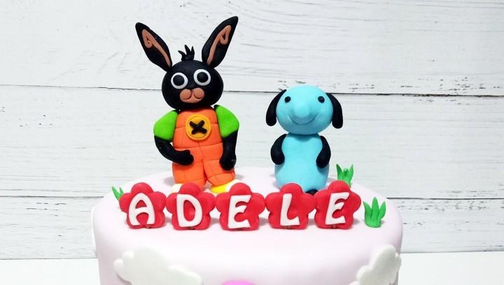 Torta Bing, coniglietto nero, 7 idee originali