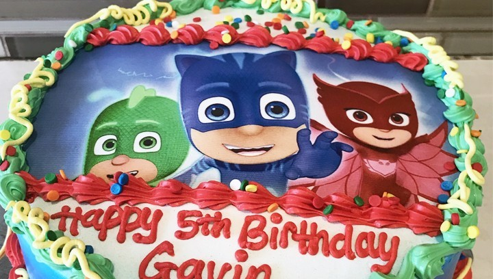 Torta Super Pigiamini, 10 idee originali PJ Masks in pdz